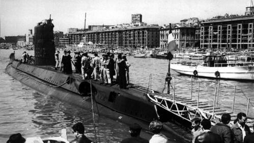 """GRAND FORMAT. Le mystère insondable de """"La Minerve"""", sous-marin disparu il y a un demi-siècle au large de Toulon"""