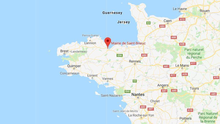 Google Maps Ville De Saint Brieux