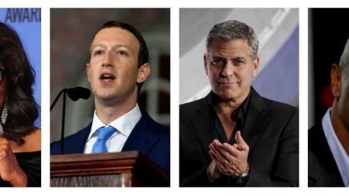 """Oprah Winfrey, """"The Rock"""", Mark Zuckerberg... Pourquoi la candidature de people à l'élection américaine de 2020 fait fantasmer ?"""