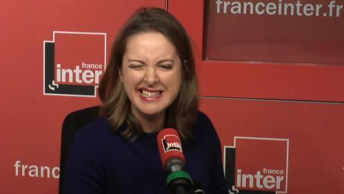 """VIDEO. """"Faites pas vos mijaurées, réhabilitons DSK!"""":Charline Vanhoenacker répond à Elisabeth Lévy sur France Inter"""