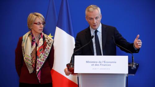 """VIDEO. Lait infantile contaminé : Le Maire accuse Lactalis d'être """"une entreprise défaillante"""""""