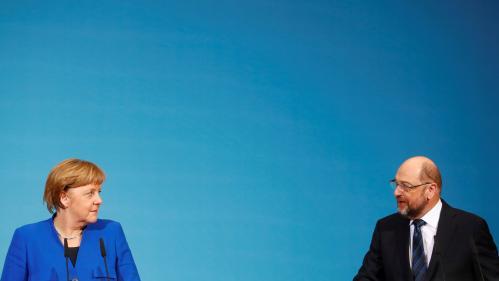 Allemagne : les sociaux-démocrates approuvent un gouvernement de coalition avec les conservateurs d'Angela Merkel