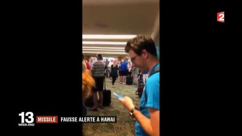 VIDEO. Scènes de panique à Hawaï après la diffusion d'une fausse alerte au missile balistique