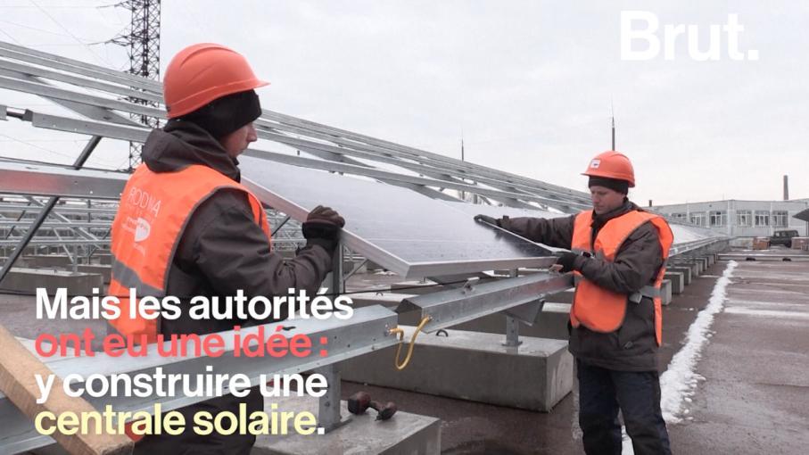 video l ukraine va construire une centrale solaire tchernobyl cent m tres du r acteur qui. Black Bedroom Furniture Sets. Home Design Ideas