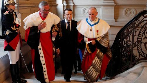 Emmanuel Macron refuse d'accorder son indépendance au parquet