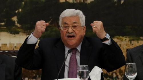 """Proche-Orient : l'offre de paix de Donald Trump est la """"claque du siècle"""", selon le président palestinien Mahmoud Abbas"""