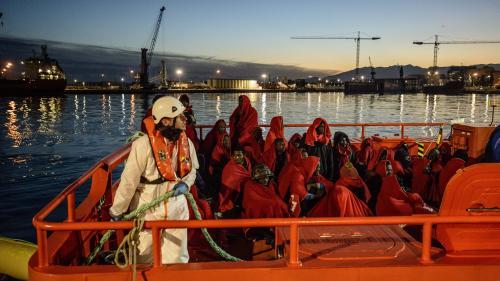 Quelque 1 400 migrants ont été secourus en Méditerranée sur la seule journée de mardi