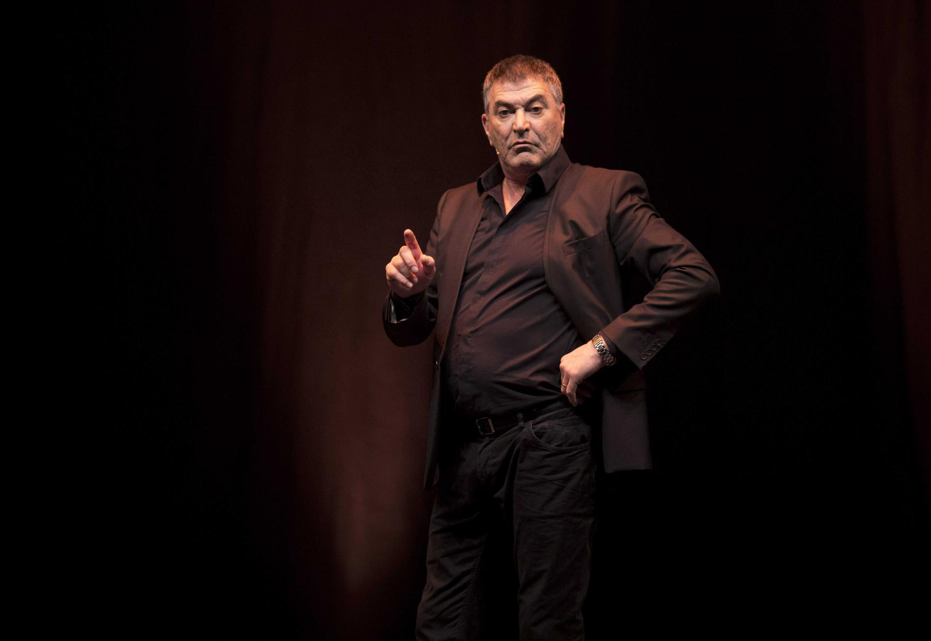 L\'humoriste Jean-Marie Bigard à Cannes (Alpes-Maritimes), le 23 mars 2013.