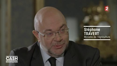 """VIDEO. """"Lactalis est au-dessus des lois"""", affirme le ministre de l'Agriculture dans """"Cash Investigation"""""""