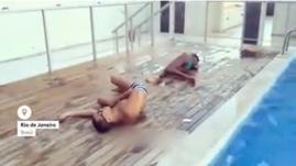 VIDEO. Au Brésil, un nouveau phénomène viral qui consiste à être touché par une balle imaginaire