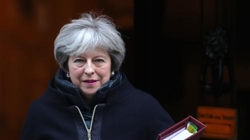 "VIDEO. ""Nous n'abandonnerons pas l'Europe"" : regardez l'interview de Theresa May au ""20 Heures"" de France 2"