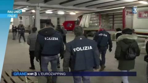 nouvel ordre mondial | L'Eurozapping : mafia chinoise démantelée en Italie, bain glacé en Russie