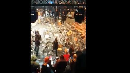 Levallois-Perret : une bagarre générale éclate dans le public lors d'un combat de boxe
