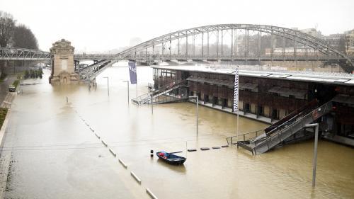 EN IMAGES. Paris : la Seine en crue atteint 4,50mètres