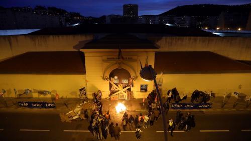 DIRECT. Colère des surveillants de prisons: 120établissements bloqués, selon l'Ufap-Unsa