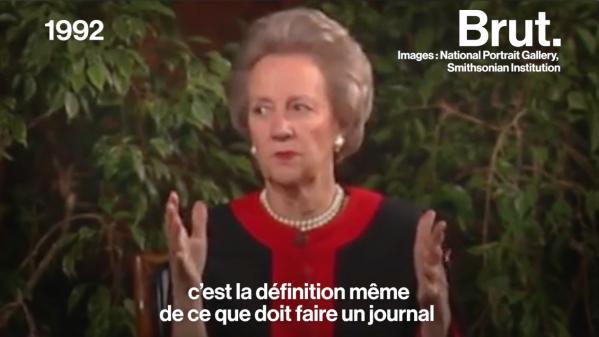 Katharine Graham, la femme qui révéla les Pentagon Papers et le Watergate