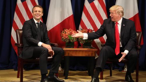 Donald Trump a invité Emmanuel Macron à la Maison Blanche