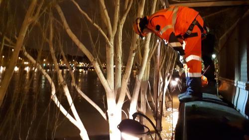 Crue de la Seine : une course contre la montre des équipes techniques pour rouvrir au plus vite le RERC