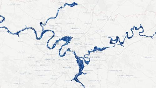 CARTE. Inondations: que se passerait-il dans votre quartier en cas de crue exceptionnelle enIle-de-France?