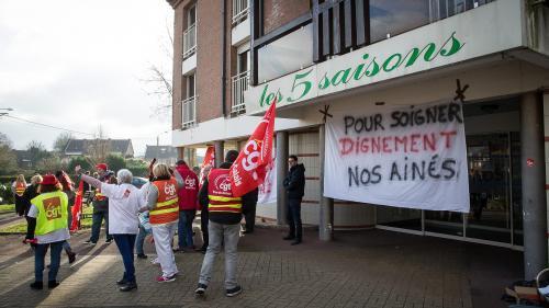 DIRECT. Des rassemblements à Paris et Marseille pour dénoncer l'insuffisance de moyens dans les Ehpad