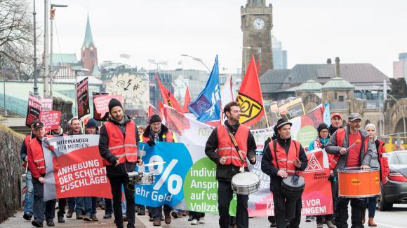 Une grève pour travailler 28 heures — Allemagne