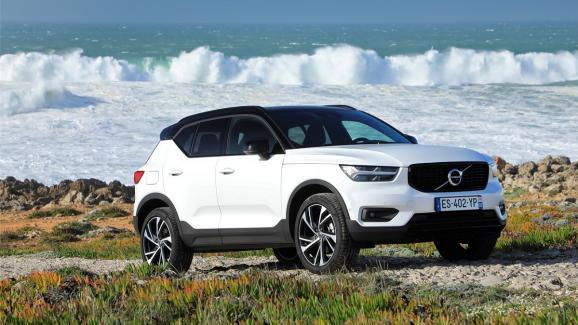 l auto le volvo xc40 un suv fun et sophistiqu. Black Bedroom Furniture Sets. Home Design Ideas