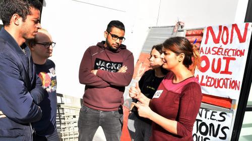 Première journée de mobilisation contre les réformes de l'entrée à l'université et du bac