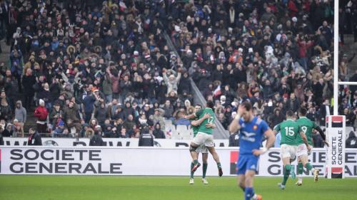 VIDEO. La France s'incline à la dernière seconde face à l'Irlande lors du Tournoi des six nations