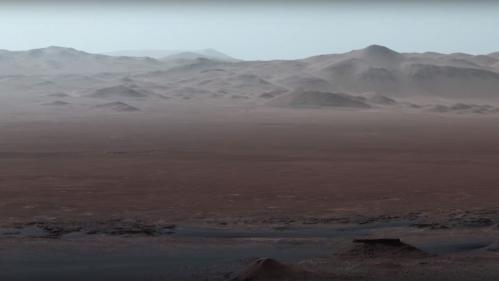 VIDEO. La Nasa dévoile de nouvelles images de Mars prises par le robot Curiosity