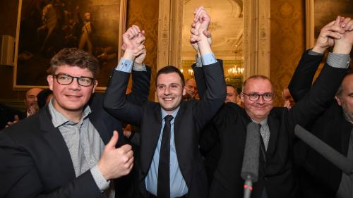 Législative partielle dans le territoire de Belfort : le député des Républicains Ian Boucard annonce son élection