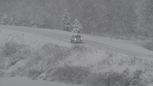 L'alerte à la neige et au verglas étendue à la Nièvre et la Saône-et-Loire, 25départements en vigilance orange