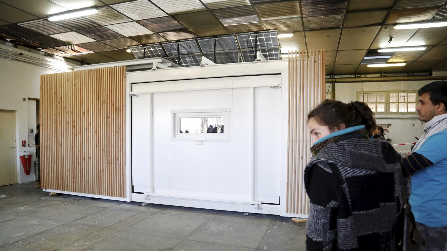 Grand froid une maison transportable con ue marseille for Maison transportable