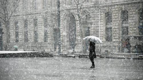 Intempéries : 39 départements en vigilance orange pour la neige et le verglas