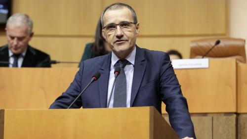 """Emmanuel Macron en Corse: """"Il faudra que chacun soit à la hauteur des enjeux"""", prévient Jean-Guy Talamoni"""
