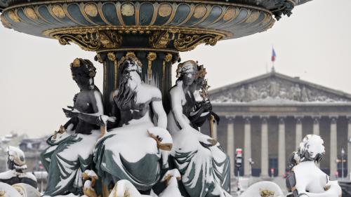 EN IMAGES. Neige : les sites touristiques parisiens comme vous ne les avez jamais vus