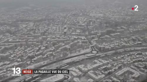 VIDEO. Neige sur les routes d'Ile-de-France : regardez la pagaille vue du ciel