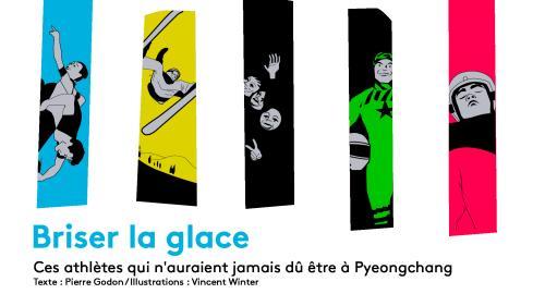 Migrant ghanéen, patineurs nord-coréens, lugeur indien... Ces athlètes improbables présents aux JO de Pyeongchang