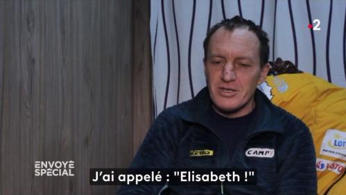 """VIDEO. """"J'étais tellement content, je pleurais de joie"""" : les alpinistes polonais racontent le sauvetage d'Elisabeth Revol à """"Envoyé spécial"""""""