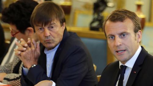"""""""Rumeurs"""" de harcèlement sexuel visant Nicolas Hulot : l'Elysée écarte toute démission du ministre, en l'absence d'une mise en examen"""