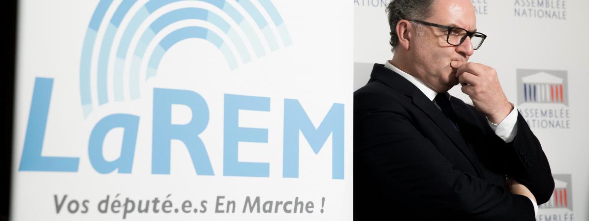 Le président du groupe La République en marche, Richard Ferrand, à Paris, le 24 octobre 2017.
