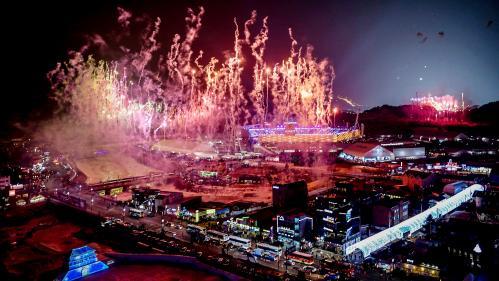 VIDEO. JO d'hiver 2018 : revivez la cérémonie d'ouverture à Pyeongchang