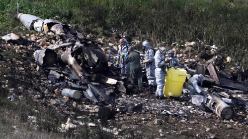 Ce que l'on sait du crash de l'avion de chasse israélien abattu par l'armée syrienne