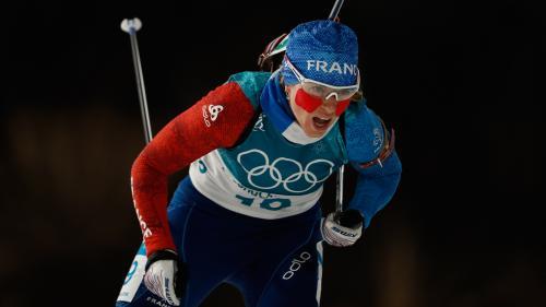 JO d'hiver 2018 : la Française Anaïs Bescond décroche le bronze lors de la poursuite dames du biathlon