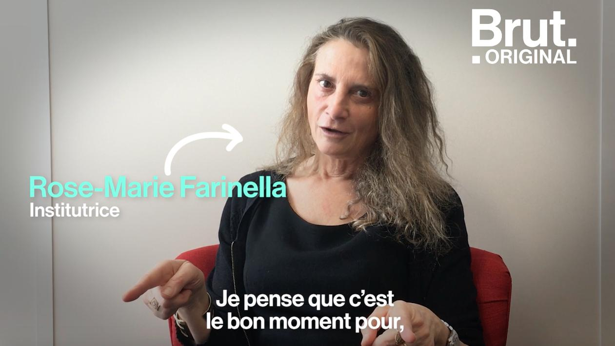Rose Marie Farinella L Institutrice Qui Forme Ses Eleves A