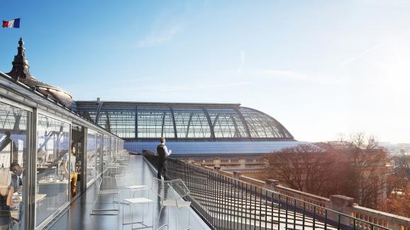 R novation du grand palais paris un immense chantier for Architecte grand palais