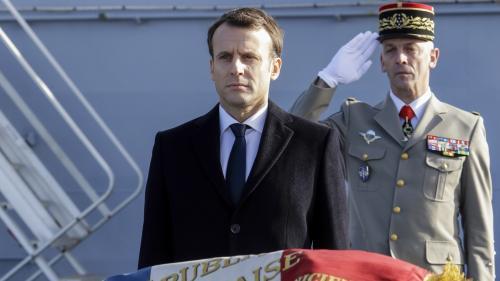 """Service national universel : Emmanuel Macron veut une partie """"obligatoire"""" d'au moins trois mois"""