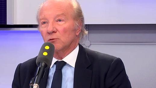 """Brice Hortefeux, député européen Les Républicains et ancien ministre de l'Intérieur, était l\'invité de \""""Tout est politique\"""", mardi 13 février 2018, sur franceinfo."""