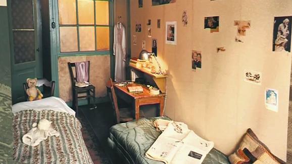 La chambre d\'Anne Frank