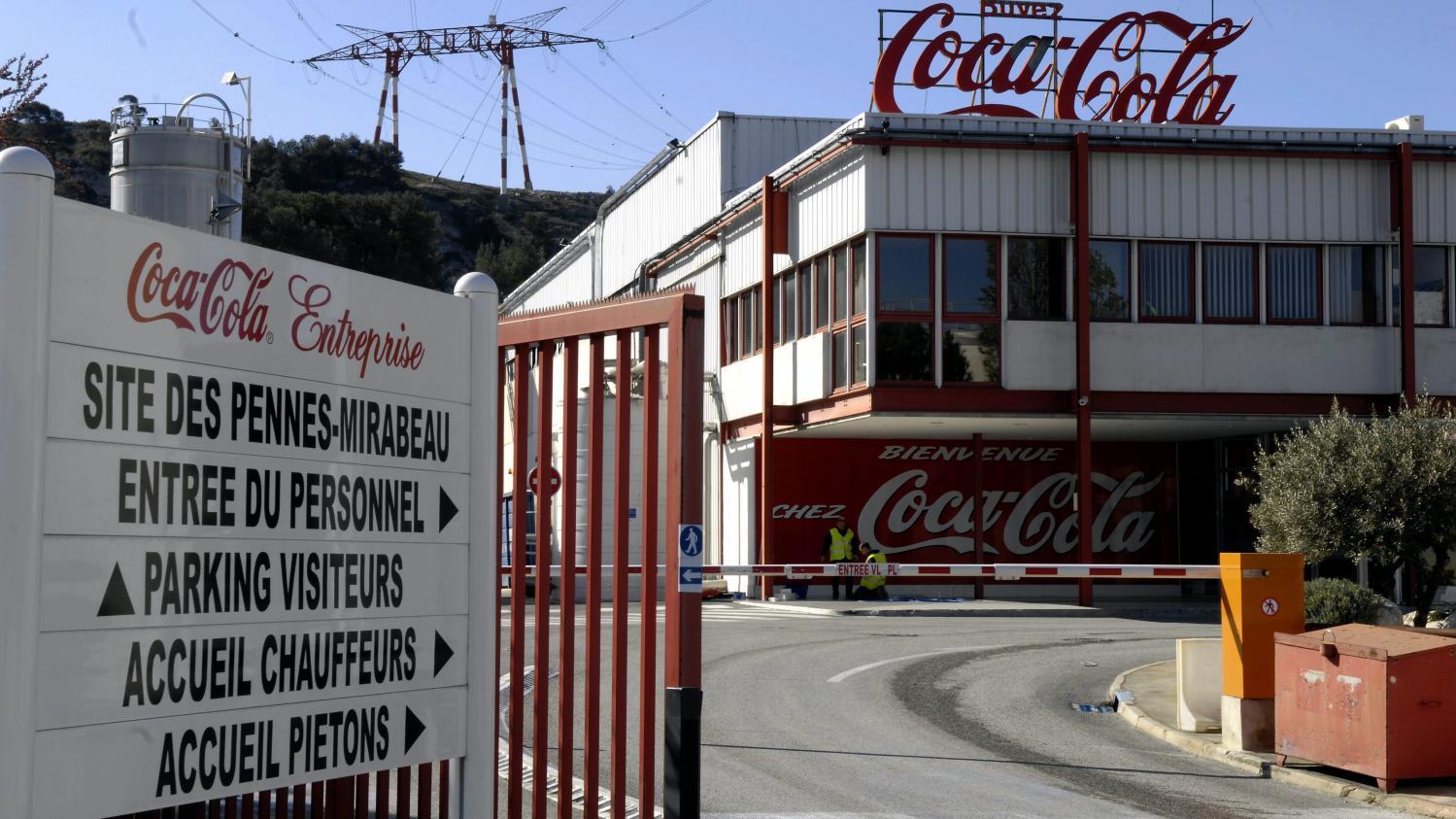Bouches du rh ne les salari s de l 39 usine coca cola des for Chambre de commerce bouches du rhone