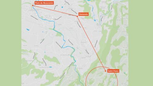 CARTE. L'itinéraire de Nordahl Lelandais, minute par minute, la nuit où Maëlys a été tuée
